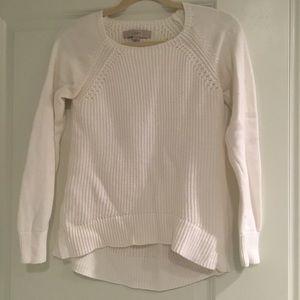 Loft White Sweater